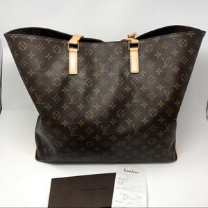 Authentic Louis Vuitton Tote Bag; Refurbished